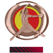 "Hasty Awards 3"" Halo Softball Medals"