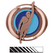 """Hasty Awards 3"""" Halo Swimming Medals"""