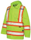 Work King 300D Safety Rain Jacket