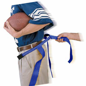 ROYAL BLUE BELT/BLUE FLAG