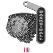"""Hasty Awards 2.25"""" Prime Basketball Medals"""