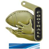 "Hasty Awards 2.25"" Prime Football Medals"