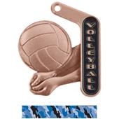 """Hasty Awards 2.25"""" Prime Volleyball Medals"""