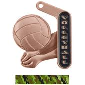 "Hasty Awards 2.25"" Prime Volleyball Medals"