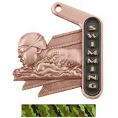 """Hasty Awards 2.25"""" Prime Swimming Medals"""
