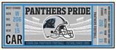 Fan Mats NFL Carolina Panthers Ticket Runner