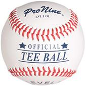 Pro Nine Official Tee Ball Raised Seam Baseball EA