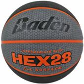 Baden Hex Deluxe Rubber Skived Basketballs