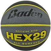 Baden Hex Deluxe Rubber Skived Basketballs