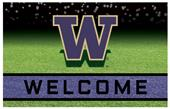 Fan Mats NCAA Washington Crumb Rubber Door Mat
