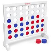 GoSports Wooden 3' Giant 4 in a Row Game