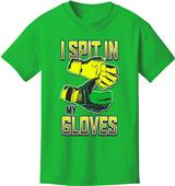 Utopia I Spit In My Gloves Soccer T-Shirt