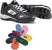 A4 F9105 Game Day Low Baseball Cleats - Closeout