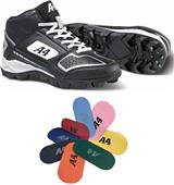A4 F9106 Game Day Mid Baseball Cleats - Closeout