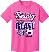 Utopia Adult/Youth Beauty Beast Soccer T-Shirt