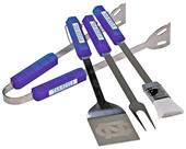 Collegiate North Carolina 4-Piece BBQ Set