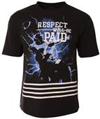 A4 Adult Respect Will Be Paid Tee - Closeout