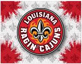 Holland Univ of Louisiana Logo Printed Canvas Art