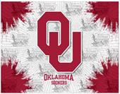Holland Oklahoma Univ Logo Printed Canvas Art