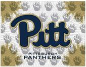 Holland Univ of Pittsburgh Logo Printed Canvas Art
