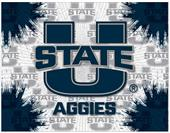 Holland Utah State Univ Logo Printed Canvas Art