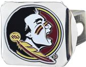 Fan Mats NCAA Florida St. Chrome/Color Hitch Cover