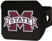 Fan Mats Mississippi St. Black/Color Hitch Cover