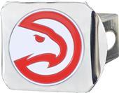 Fan Mats NBA Atlanta Hawk Chrome/Color Hitch Cover