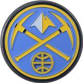 Fan Mat NBA Denver Nuggets Colored Vehicle Emblem