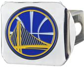 Fan Mats NBA Golden State Chrome/Color Hitch Cover
