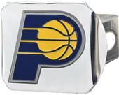 Fan Mat NBA Indiana Pacer Chrome/Color Hitch Cover