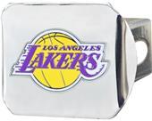 Fan Mat NBA LA Lakers Chrome/Color Hitch Cover