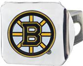 Fan Mat NHL Boston Bruins Chrome/Color Hitch Cover