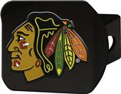 Fan Mats NHL Chicago Black/Color Hitch Cover