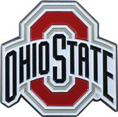 Fan Mats NCAA Ohio State Colored Vehicle Emblem