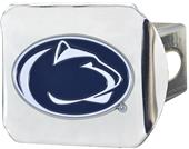 Fan Mats NCAA Penn State Chrome/Color Hitch Cover
