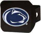 Fan Mats NCAA Penn State Black/Color Hitch Cover