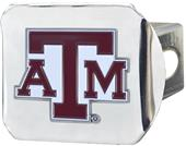 Fan Mats NCAA Texas A&M Chrome/Color Hitch Cover