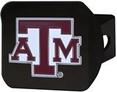 Fan Mats NCAA Texas A&M Black/Color Hitch Cover