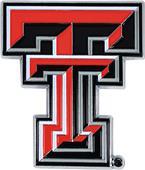 Fan Mats NCAA Texas Tech Colored Vehicle Emblem