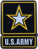 Fan Mats US Army Colored Vehicle Emblem
