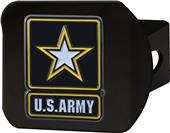 Fan Mats US Army Black/Color Hitch Cover