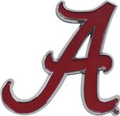Fan Mats NCAA Alabama Colored Vehicle Emblem