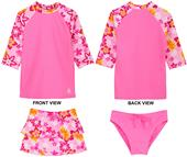 Tuga Swimwear Girls Tropical Breeze 3pc Swim Set
