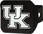 Fan Mats NCAA Kentucky Black Hitch Cover