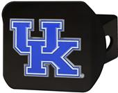 Fan Mats NCAA Kentucky Black/Color Hitch Cover