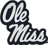 Fan Mats NCAA Ole Miss Chrome Vehicle Emblem