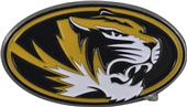 Fan Mats NCAA Missouri Colored Vehicle Emblem