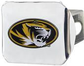 Fan Mats NCAA Missouri Chrome/Color Hitch Cover