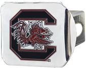 Fan Mats NCAA S. Carolina Chrome/Color Hitch Cover